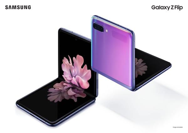 Noul telefon Samsung Galaxy Z Flip