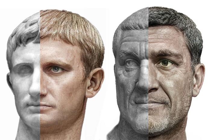 portrete imparati romani