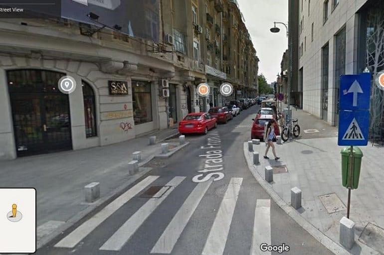 cum blurez casa pe street view