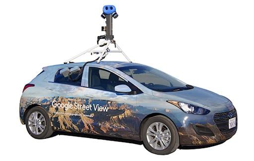 masina google street view